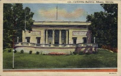 Cyclorama Building - Atlanta, Georgia GA Postcard