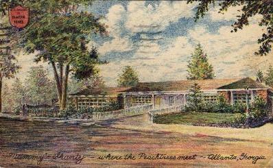 Where the Peachtrees Meet - Atlanta, Georgia GA Postcard
