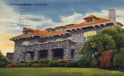 Governor's Mansion - Atlanta, Georgia GA Postcard