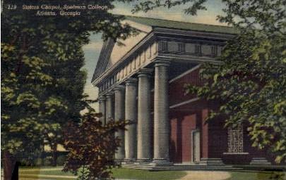 Sisters Chapel, Spelman College - Atlanta, Georgia GA Postcard