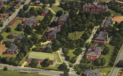 Spelman College - Atlanta, Georgia GA Postcard