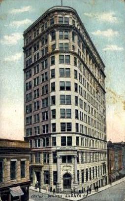 Century Building - Atlanta, Georgia GA Postcard