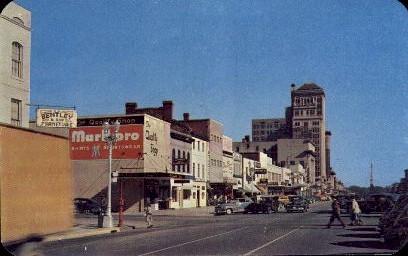 Broad St. - Augusta, Georgia GA Postcard