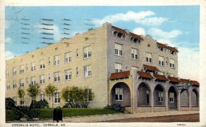 Cordelia Hotel - Cordele, Georgia GA Postcard