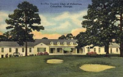 The Country Club of Columbus - Georgia GA Postcard