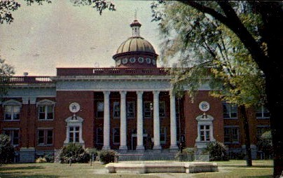 The Muscogee County Courthouse - Columbus, Georgia GA Postcard
