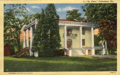 St. Elmo - Columbus, Georgia GA Postcard