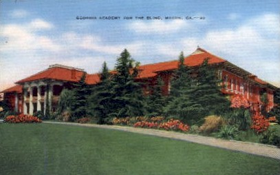 GA Academy for the Blind - Macon, Georgia GA Postcard