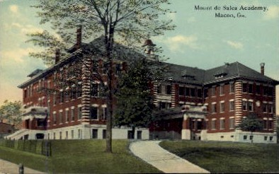 Mount de Sales Academy - Macon, Georgia GA Postcard