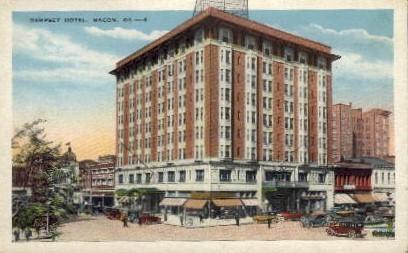 Hotel Dempsey - Macon, Georgia GA Postcard