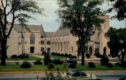 Mulberry St. Methodist Church - Macon, Georgia GA Postcard