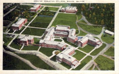 Greater Wesleyan College - Macon, Georgia GA Postcard