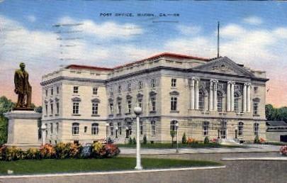 Post Office - Macon, Georgia GA Postcard