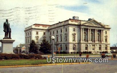 Federal Bldg - Macon, Georgia GA Postcard