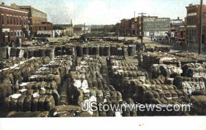 Cotton, Poplar St. - Macon, Georgia GA Postcard