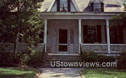 Sidney Lanier Birthplace - Macon, Georgia GA Postcard