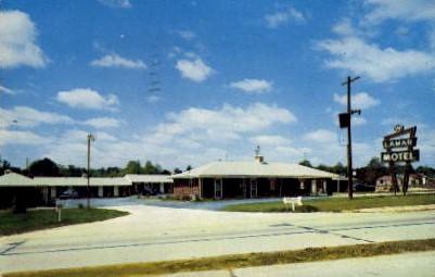Lamar Motel - Marietta, Georgia GA Postcard