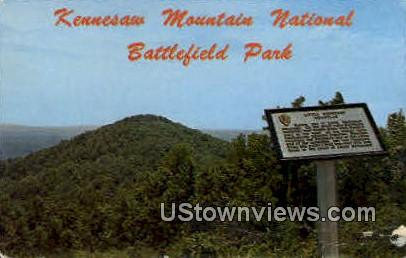 Kennesaw Mt. National Battlefield Park - Marietta, Georgia GA Postcard