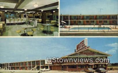 Magnolia Plaza motel - Macon, Georgia GA Postcard