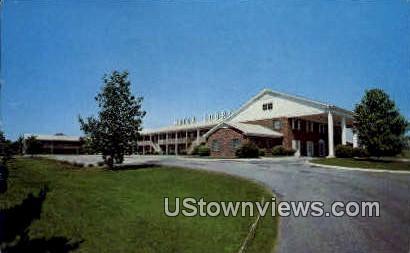 University Hotel Court - Athens, Georgia GA Postcard