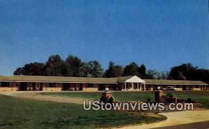 Americus Motel - Georgia GA Postcard