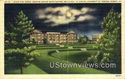 Soule Hall, University of Georgia - Athens Postcard