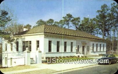 Bradley Memorial Library - Columbus, Georgia GA Postcard