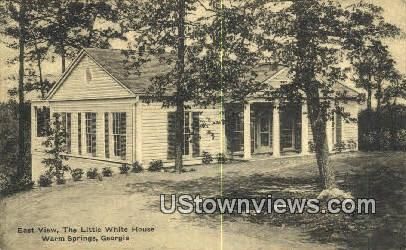 Little White House - Warm Springs, Georgia GA Postcard