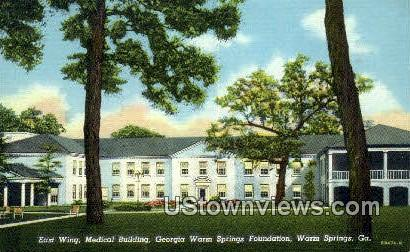 Georgia Warm Springs Foundation Postcard
