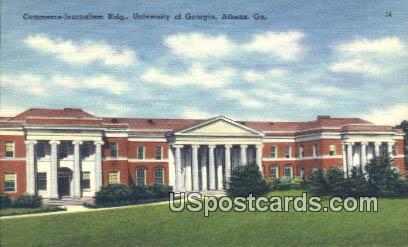 University of Georgia - Athens Postcard