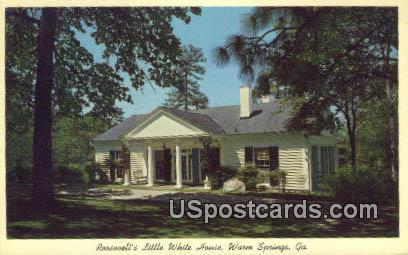 Roosevelt's Little White House - Warm Springs, Georgia GA Postcard