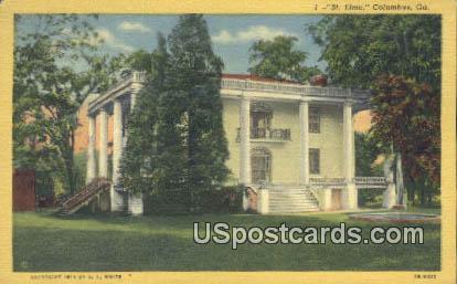 St Elmo - Columbus, Georgia GA Postcard