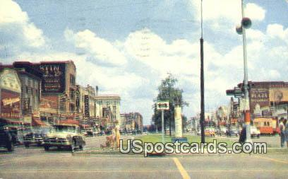 Shopping Center on Broadway - Columbus, Georgia GA Postcard