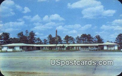 Candlelight Motel - Columbus, Georgia GA Postcard