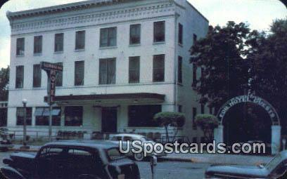 Georgian Hotel - Macon Postcard