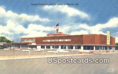 Sears Roebuck & Co Store - Macon, Georgia GA Postcard