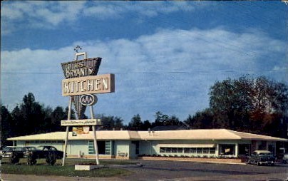 Bryant's Kitchen - Statesboro, Georgia GA Postcard