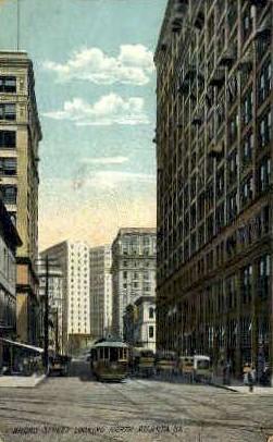 Broad Street - Atlanta, Georgia GA Postcard