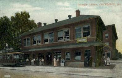Transfer Station - Columbus, Georgia GA Postcard