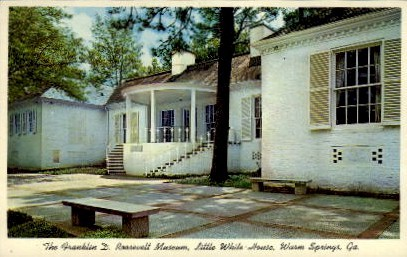 The Franklin D. Roosevelt Museum - Warm Springs, Georgia GA Postcard