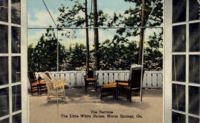 The Terrace - Warm Springs, Georgia GA Postcard