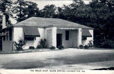 The Brace Shop - Warm Springs, Georgia GA Postcard
