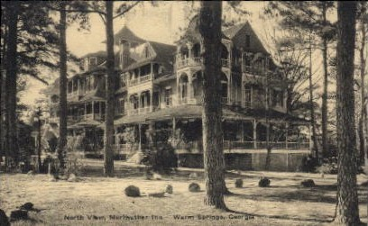 Meriwether Inn - Warm Springs, Georgia GA Postcard