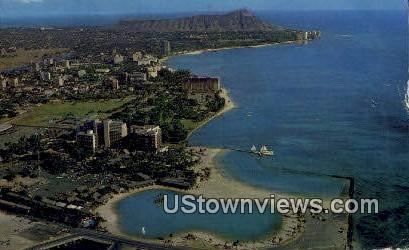 Waikiki, Hawaii, HI, Postcard