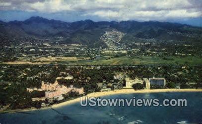 Royal Hawaiian - Waikiki Postcard