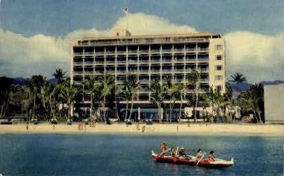 The Surf Rider Hotel - Waikiki, Hawaii HI Postcard