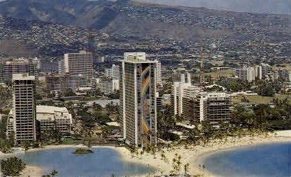 The Hilton Hawaiian Village - Waikiki Postcard