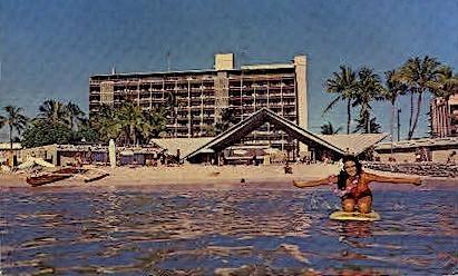 Waikiki Biltmore Hotel - Hawaii HI Postcard
