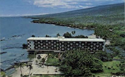 Keauhou Beach Hotel - Kona Coast, Hawaii HI Postcard