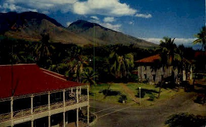 Lahaina - Maui, Hawaii HI Postcard